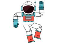 Astronaut Character Design