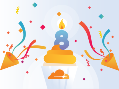 Birthday Celebration flame cake birthday frosting streamers celebration confetti cupcake candle