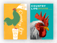 Country Lips Gig Posters