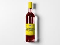 Beaujolais Nouveau Label–In Progress