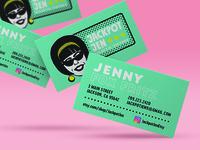 Jackpotjen Business Cards