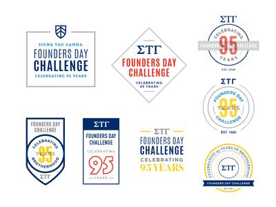 Founder's Day founders day greek fraternity challenge celebrate anniversary badge logo shield gamma sigma tau gamma