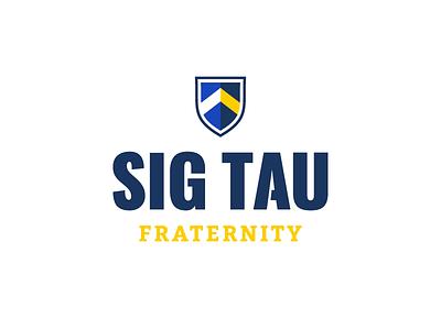 Sig Tau gentlemen noble greek identity logo branding fraternity