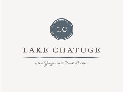 Lake Chatuge visit digital ads website outdoors city north carolina georgia logomark logo branding mountains lake