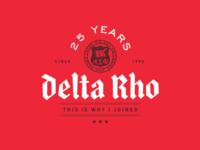Alpha Sigma Phi – Delta Rho 25th Anniversary