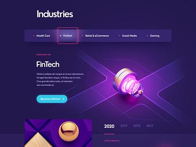Ginseo / Blockchain Development neumorphism clean blockchain flat 3d sketch logo branding ui typography illustration web design