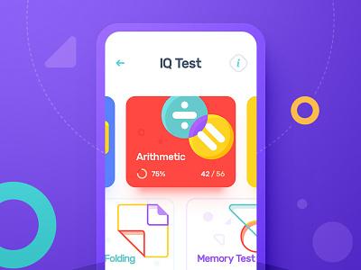 iOS app / Animation animation branding app vector navigation ux game ui illustration icon design