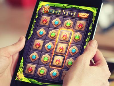 iOS Game / Match3! game ios ipad puzzle match3 gem gold bonus iphone arcade