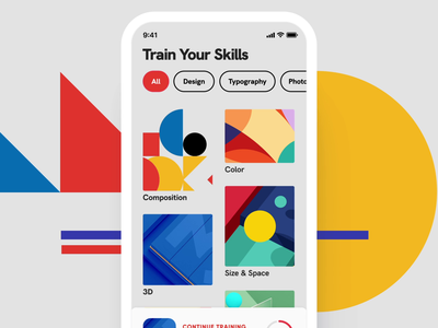 ios app ux ui design icon 3d 2d illustration flat clean.mp4