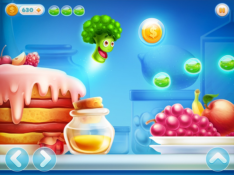 Ios Game ios game iphone ipad character sketch arcade fruit glass coin gold honey