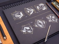 Logotypes   real size