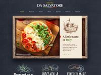 Pizzeria web site