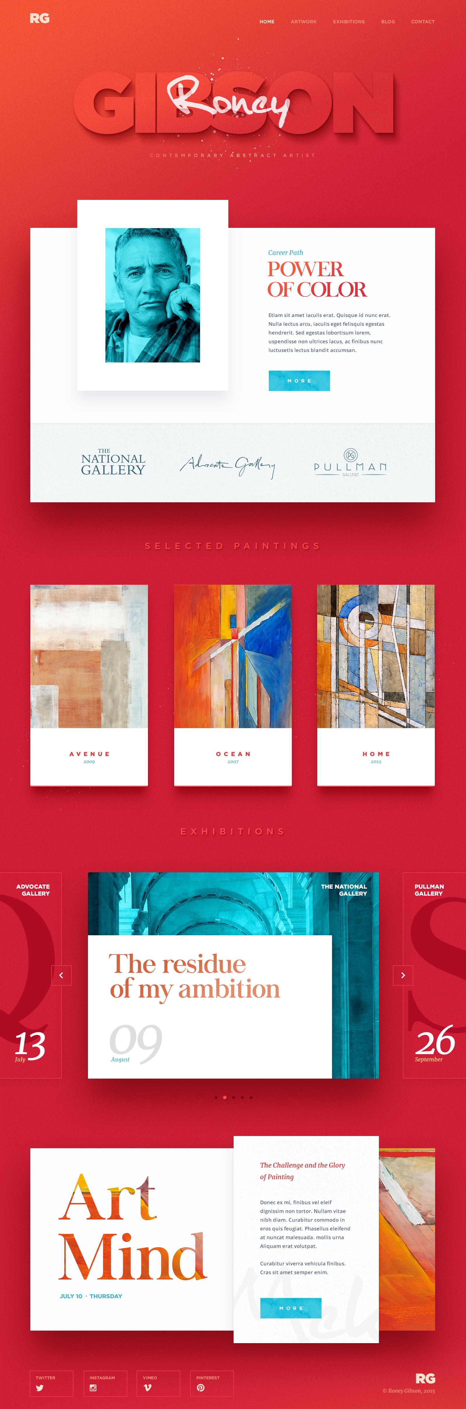 Web site design art