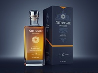 Whisky packaging design