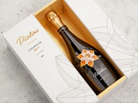 Champagne design and packaging