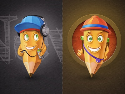 Characters rap mc wall travel music design characters pencil illustration web smile