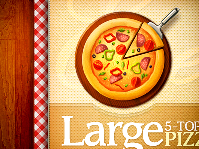 Pizza food vegetables web icon pizza topping cheese site design illustration restaurant