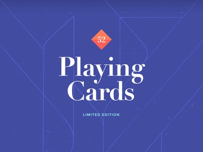 Paper Kings playing cards king deck card packaging sketch paper cards playing flat design