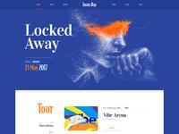 Flat web site design