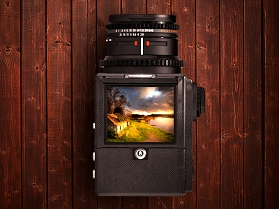Photo camera web photo camera icon design wood mood style lens picture portfolio summer house landscape