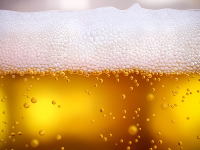 Beer beer illustration glass bubble color drink photoshop foam light cream