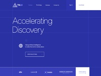 Research lab web site design wireframe