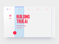 Web site design wireframe grid flat