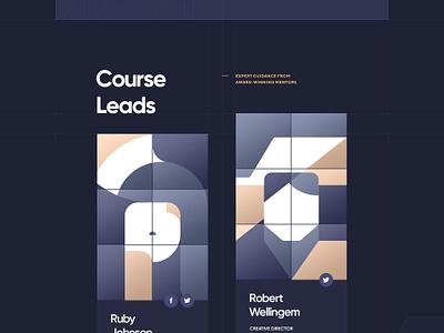 C4D Essential Training / Part 2 illustration flat cinema 4d wireframe ui  ux typography grid navigation courses portfolio 3d design site web