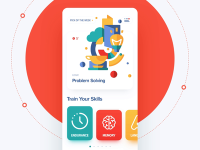 App design / Animation ux ui icon game flat button character animation vector typography illustration design