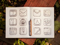 Icon set (sketch)