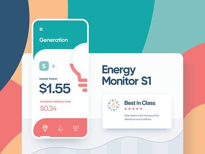 Creon / Eco Solutions icon app ios site motion animation vector ux ui typography illustration web design