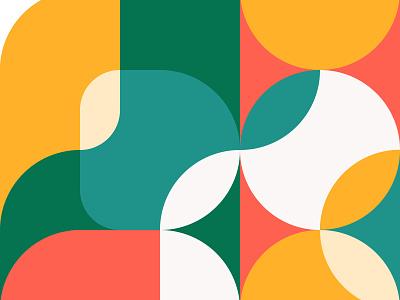 Colors Matter / Patreon site ux ui minimal geometry tutorial flat branding vector typography illustration web design sketch