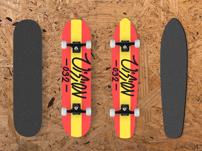 Skateboards Mockup Design  3