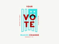 Voting makes change