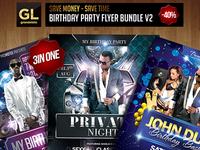 Birthday Party Flyer Bundle