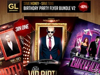 Birthday Party Flyer Bundle2
