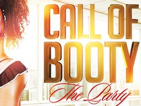 Call of Booty Sexy Flyer Template PSD