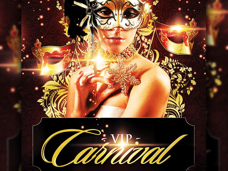 Vip Carnival Flyer Template by grandelelo | Dribbble ...
