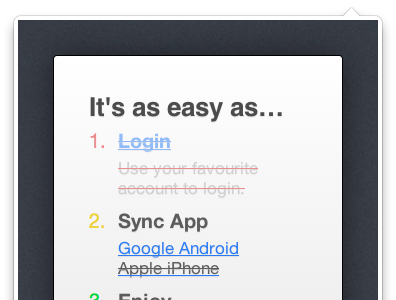 It's as easy as.... txtvia login sync pusher android google iphone