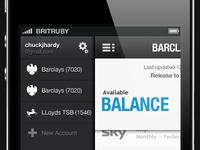 CashActional Account Sidebar