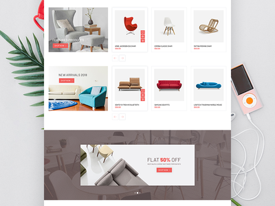 e-commerce theme Shot
