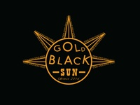 Gold Black Sun