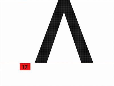 New Typeface fantasy making of typeface logo