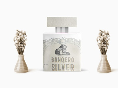 Realistic Vintage Perfume Bottle Mockup