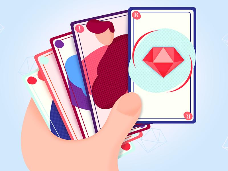 Ruby on Rails - illustration ruby on rails illustration article