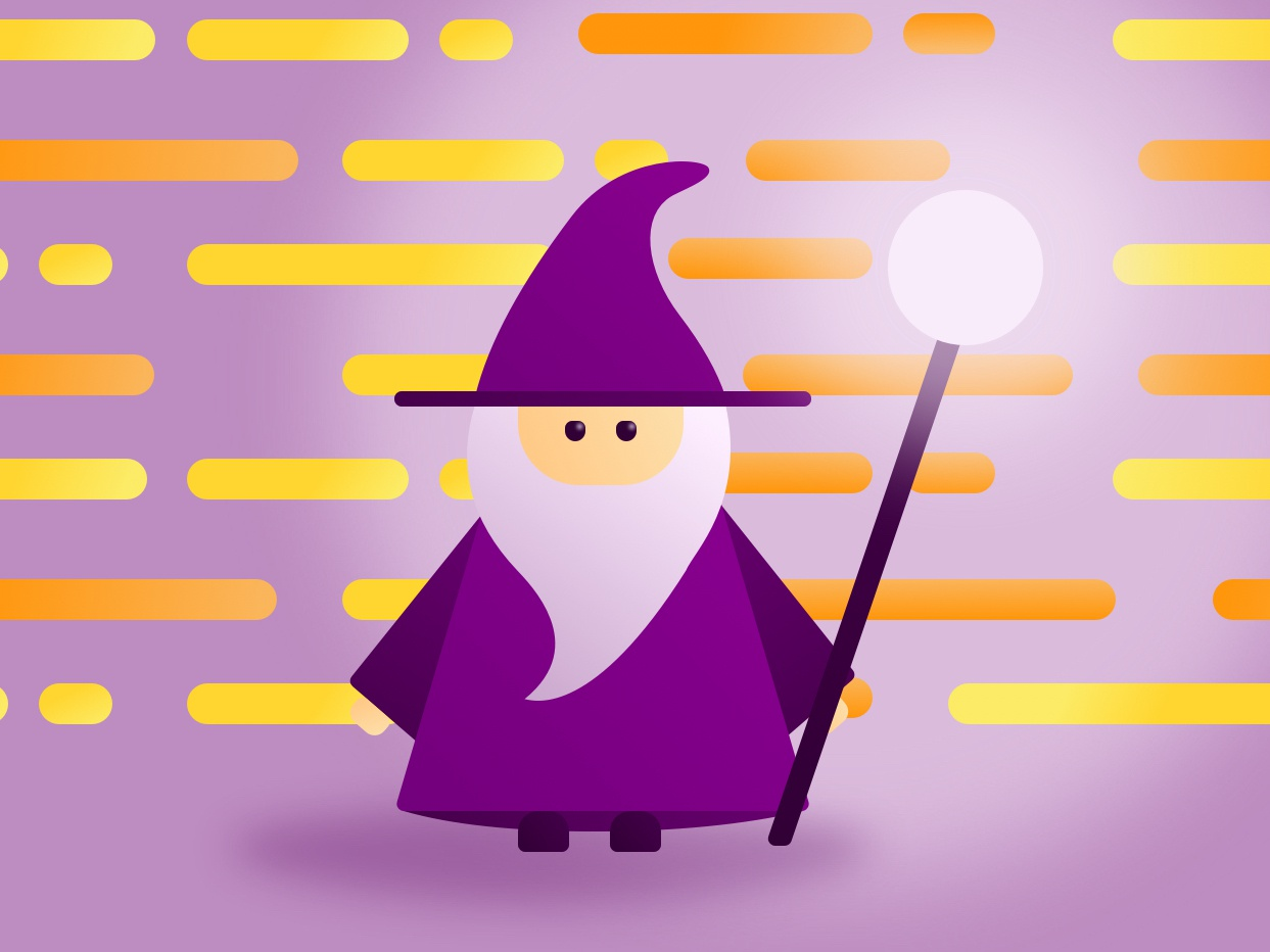 Wizard Illustration By Wero Lasota On Dribbble Check out inspiring examples of wizard artwork on deviantart, and get inspired by our community of talented artists. wizard illustration by wero lasota on