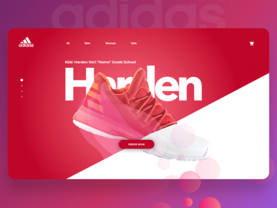 Adidas Concept Page