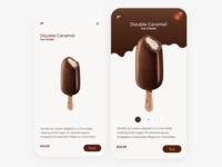 Ice Cream app concept