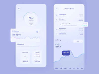 UI Dashboard your credit score adobe adobexd clean style data graph app design app moralesfreelance ui  ux uix dashboard app dashboard design dashboard ui credit score credit cards