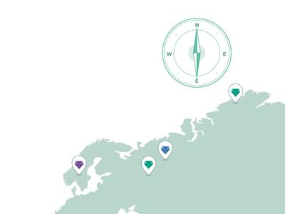 Illustrations Vera Ebook - Map